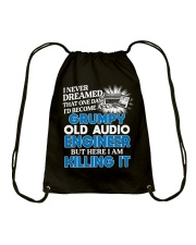 Great Audio Engineer Drawstring Bag thumbnail