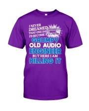 Great Audio Engineer Classic T-Shirt front