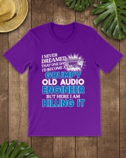 Great Audio Engineer Classic T-Shirt lifestyle-mens-crewneck-front-18