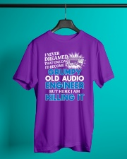 Great Audio Engineer Classic T-Shirt lifestyle-mens-crewneck-front-3