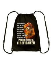 Firefighter Drawstring Bag thumbnail