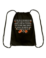 Great Tshirt For PE Teachers Drawstring Bag thumbnail