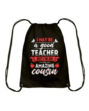 Teacher's Best T-Shirt Drawstring Bag thumbnail