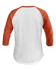 Great T-Shirt for Teacher Baseball Tee back