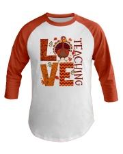 Great T-Shirt for Teacher Baseball Tee front