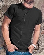 Title-Firefighter Classic T-Shirt lifestyle-mens-crewneck-front-4