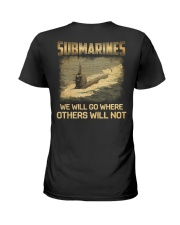 Navy Submarine Service Ladies T-Shirt thumbnail