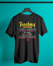 T-Shirts for Teachers Classic T-Shirt lifestyle-mens-crewneck-front-3