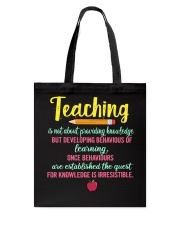 T-Shirts for Teachers Tote Bag tile