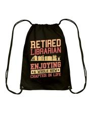 Great Shirt for Librarian Drawstring Bag thumbnail