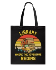 Library worker Tote Bag thumbnail