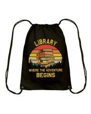 Library worker Drawstring Bag thumbnail
