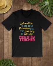 Great Shirt for Retired Teachers Classic T-Shirt lifestyle-mens-crewneck-front-18