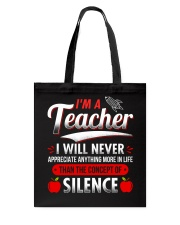 A great T-Shirt for an amazing Teacher Tote Bag thumbnail