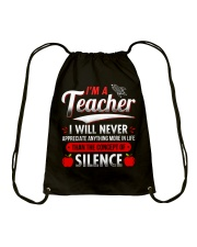 A great T-Shirt for an amazing Teacher Drawstring Bag thumbnail