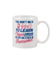 Sign Language Teachers Mug thumbnail
