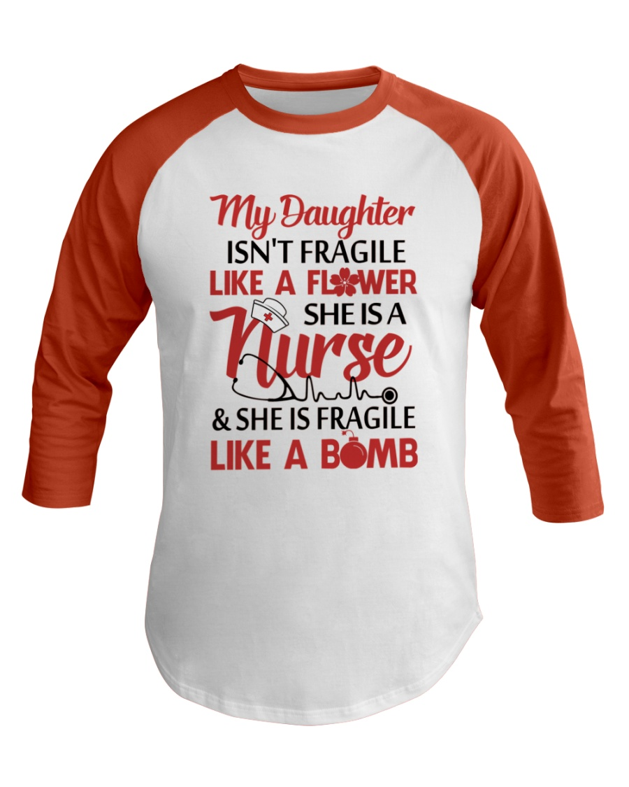 Nurse T-Shirt Baseball Tee