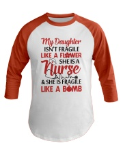 Nurse T-Shirt Baseball Tee front