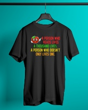 Great Shirt for Librarian Classic T-Shirt lifestyle-mens-crewneck-front-3