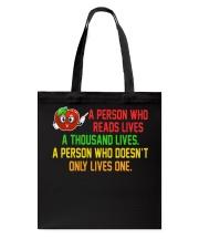 Great Shirt for Librarian Tote Bag thumbnail