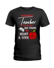 A teacher's great friend Ladies T-Shirt thumbnail