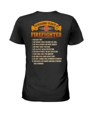 Firefighter Ladies T-Shirt thumbnail