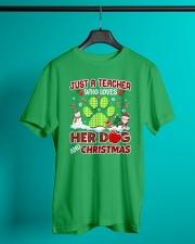 Great Shirt for Teachers Classic T-Shirt lifestyle-mens-crewneck-front-3