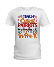 Pre-K Teacher  Ladies T-Shirt thumbnail