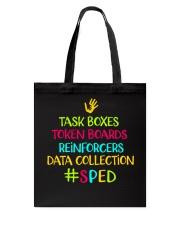 Special ED Teacher Tote Bag thumbnail