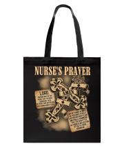 Nurses Prayer Tote Bag thumbnail