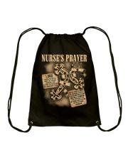 Nurses Prayer Drawstring Bag thumbnail