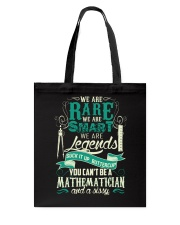 Great Shirt for Mathematician Tote Bag thumbnail