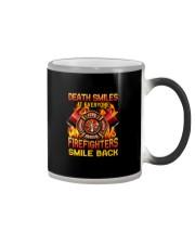 Death Smiles At Everyone Color Changing Mug thumbnail