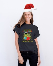 World Book Day 2019 Classic T-Shirt lifestyle-holiday-crewneck-front-1