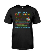 Great Shirt for Counselors Classic T-Shirt front
