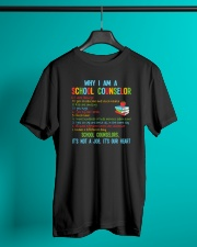 Great Shirt for Counselors Classic T-Shirt lifestyle-mens-crewneck-front-3