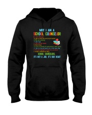 Great Shirt for Counselors Hooded Sweatshirt thumbnail