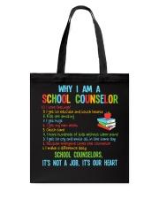 Great Shirt for Counselors Tote Bag thumbnail
