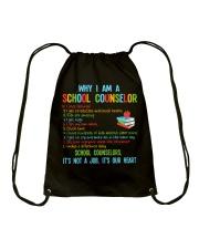 Great Shirt for Counselors Drawstring Bag thumbnail