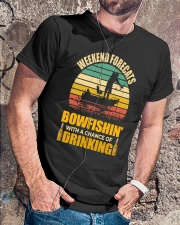 Bowfishing  Classic T-Shirt lifestyle-mens-crewneck-front-4
