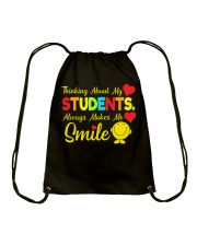 Great Shirt for Teachers Drawstring Bag thumbnail