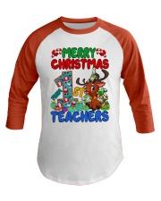 Great Shirt for First Grade Teachers Baseball Tee front