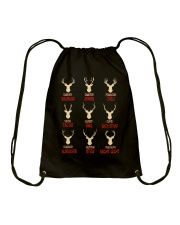 Great Shirt for Hunters Drawstring Bag thumbnail