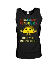 Great Shirt for 2nd Teachers Unisex Tank thumbnail