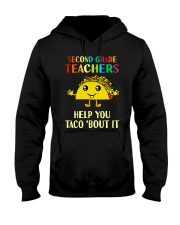 Great Shirt for 2nd Teachers Hooded Sweatshirt thumbnail