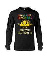 Great Shirt for 2nd Teachers Long Sleeve Tee thumbnail