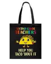 Great Shirt for 2nd Teachers Tote Bag thumbnail