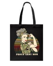 Proud Army Mom Tote Bag thumbnail