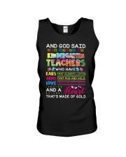 Great Shirt for Kindergarten Teachers Unisex Tank thumbnail