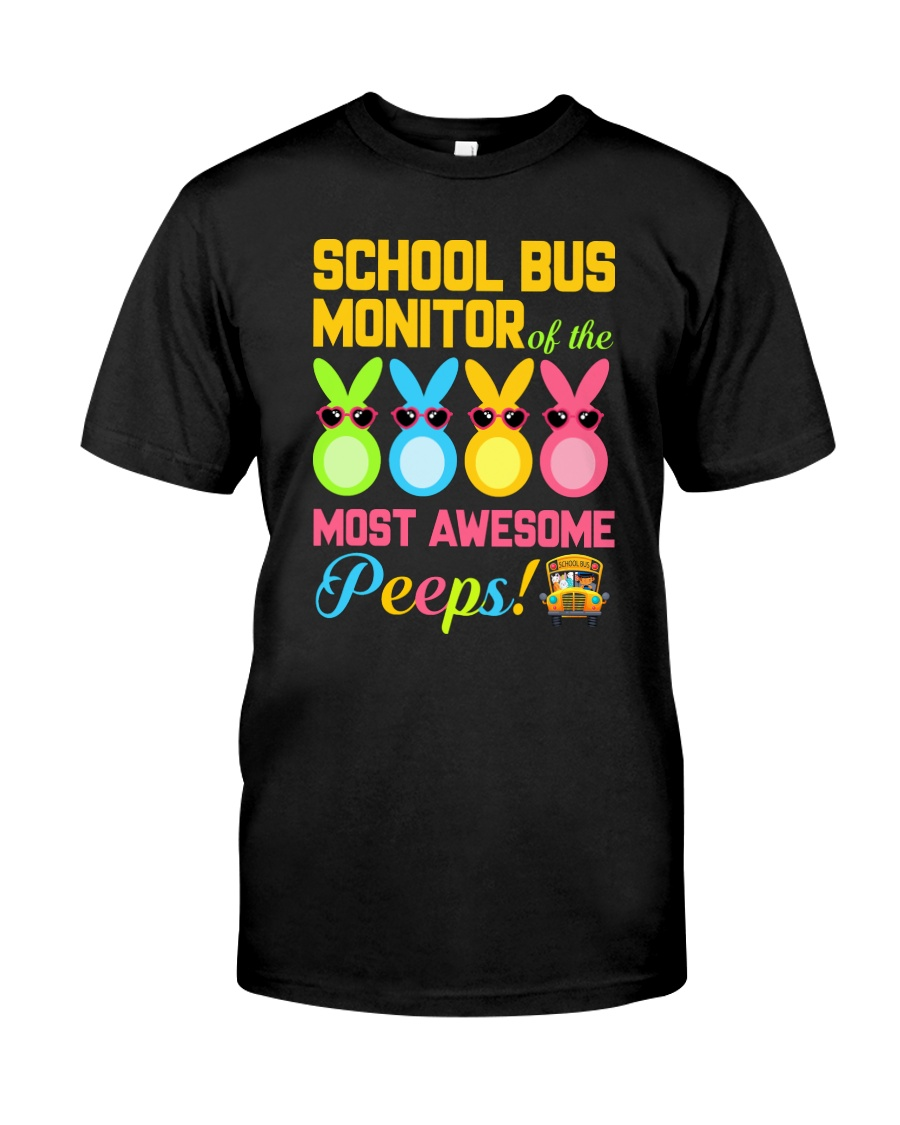 School Bus Monitor Classic T-Shirt